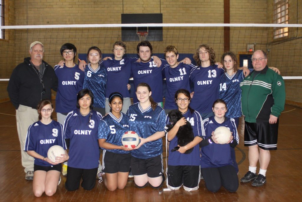 Olney Friends School Volleyball 2015
