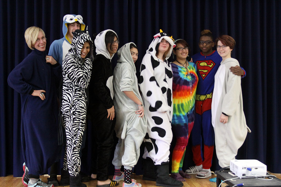 Spirit Week Showcases Interesting Attire