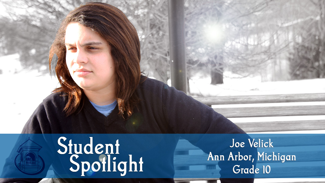 Student Spotlight: Joe Velick