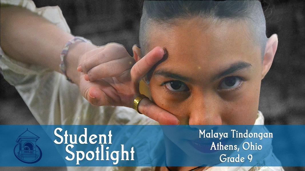 Student Spotlight: Malaya Tindongan