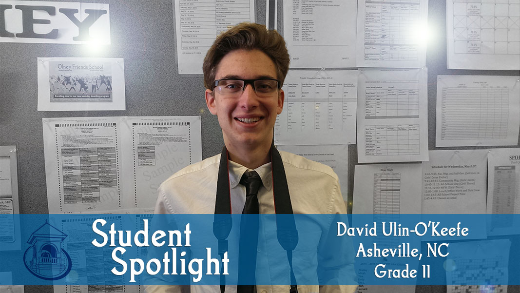 Student Spotlight: David Ulin-O'Keefe