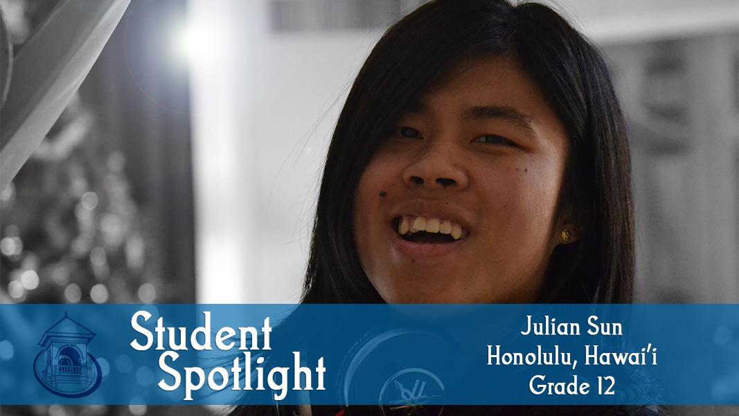 Student Spotlight: Julian Sun