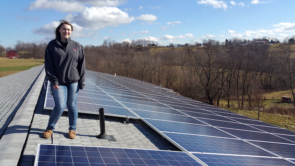 From Graddy to Reality: Olney Gets Solar Panels